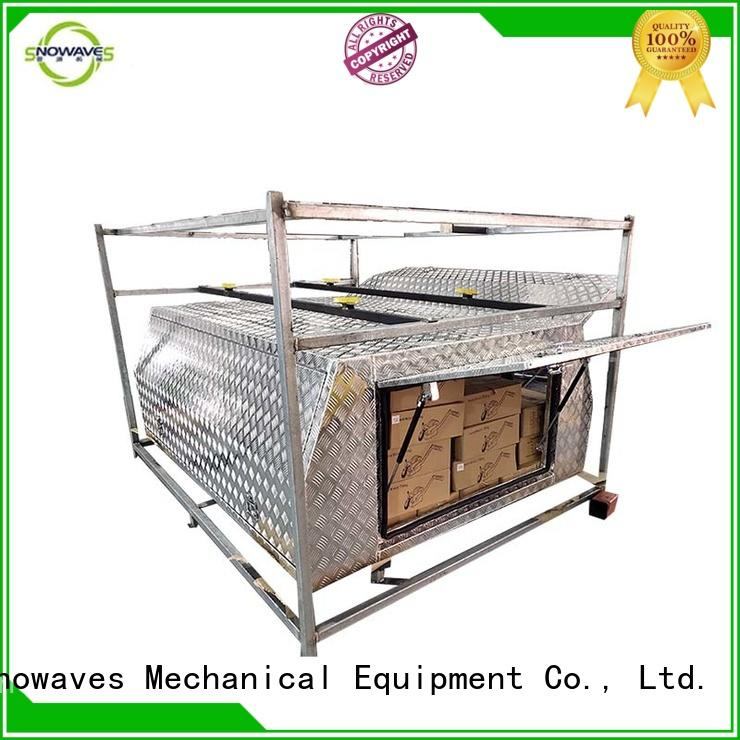 Snowaves Mechanical truck custom aluminium tool boxes for wholesale for boat