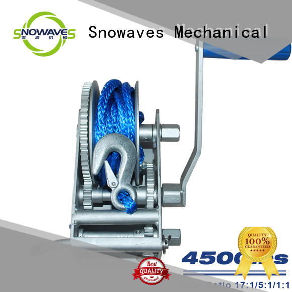 electric boat winch widely-use for picnics