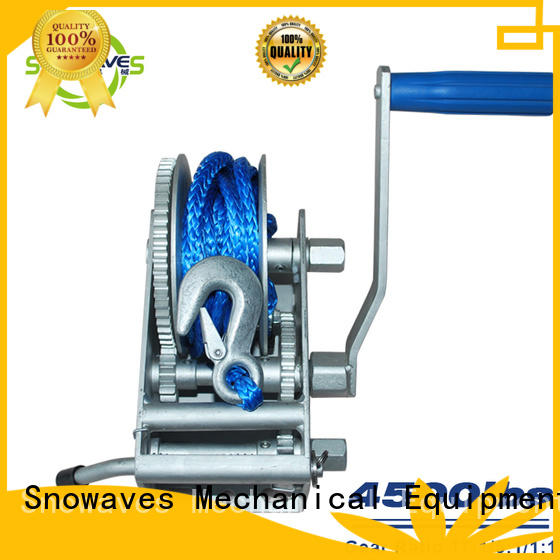 Snowaves Mechanical Top marine winch company for camp