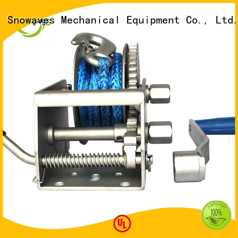 Wholesale marine winch hand supply for picnics