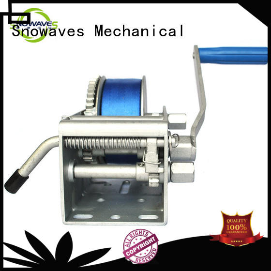 Snowaves Mechanical Marine winch Supply for one-way trips