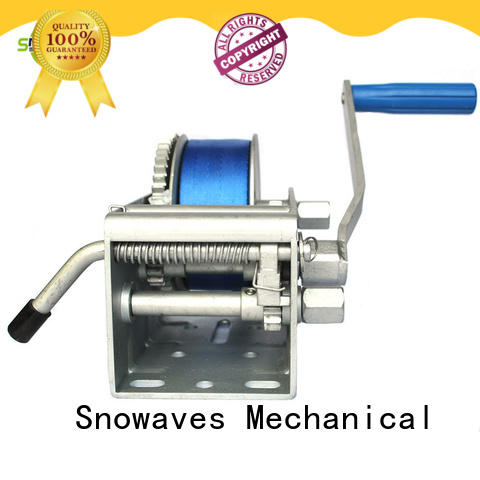 Snowaves Mechanical Marine winch manufacturers for one-way trips