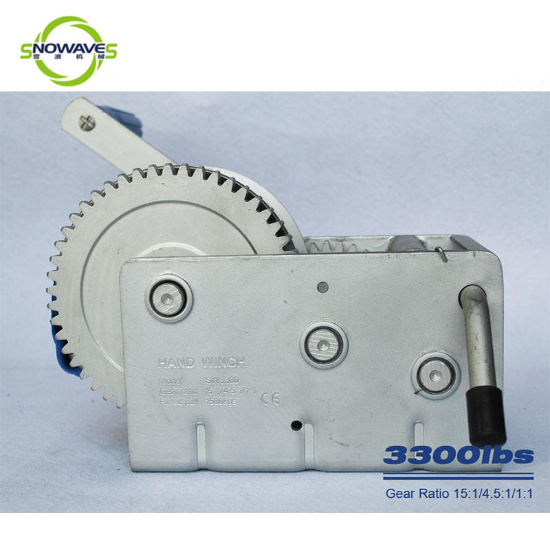 Snowaves Mechanical speed Marine winch Supply for camping-1