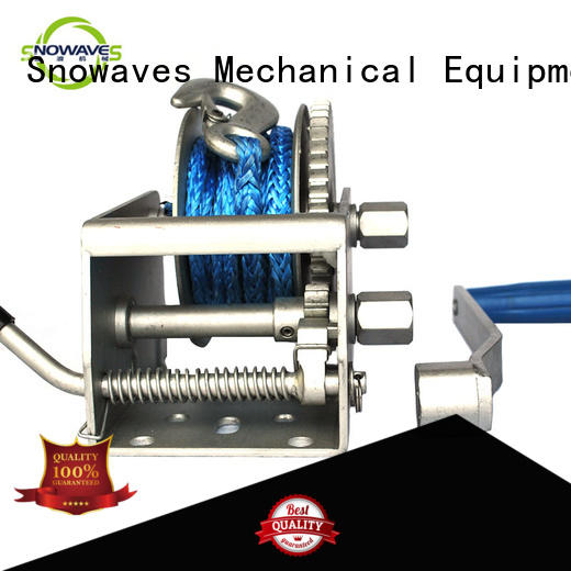 Snowaves Mechanical winch Marine winch for picnics