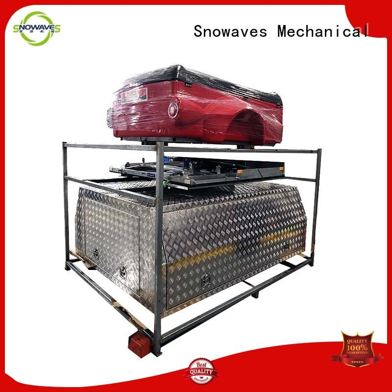 Snowaves Mechanical aluminum aluminum truck tool boxes manufacturers for camping