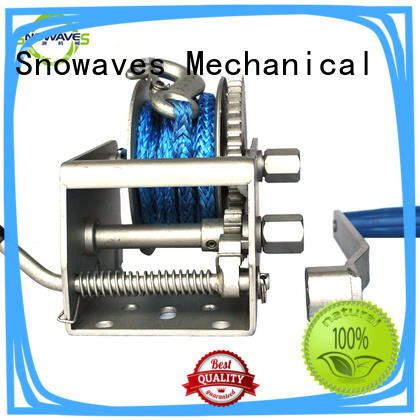 Snowaves Mechanical single Marine winch company for camp