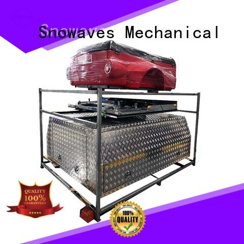 Snowaves Mechanical box aluminium tool box Suppliers for picnics