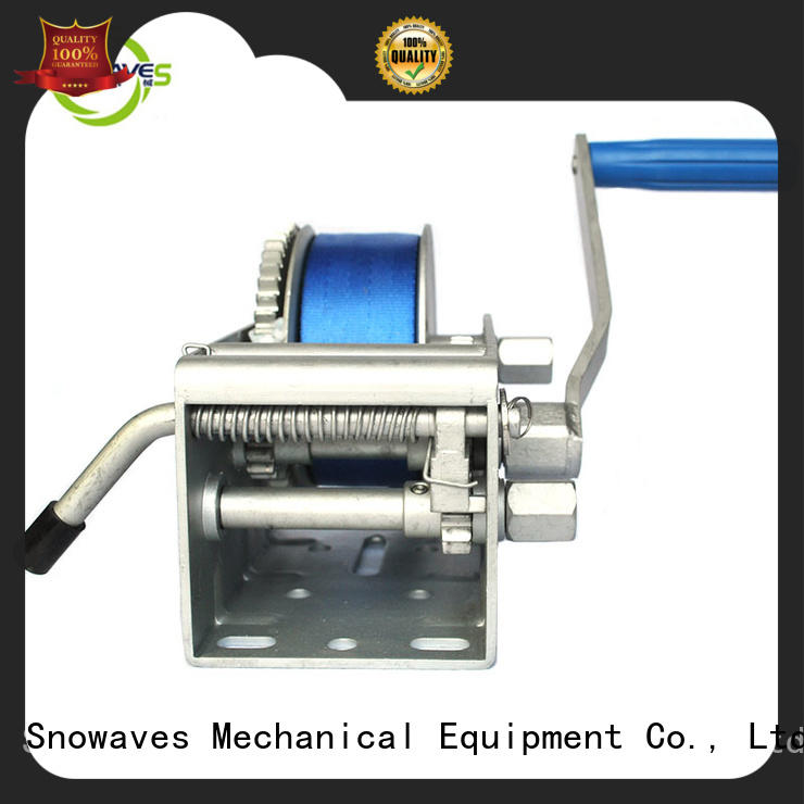 Snowaves Mechanical speed Marine winch Supply for camping