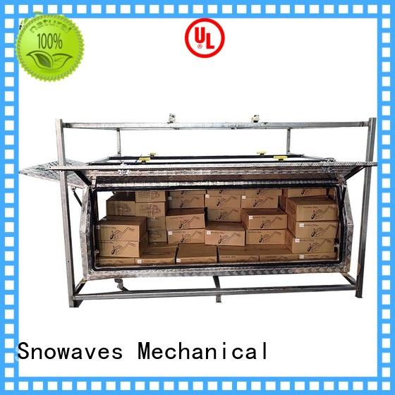 Snowaves Mechanical New aluminum trailer tool box Suppliers for picnics