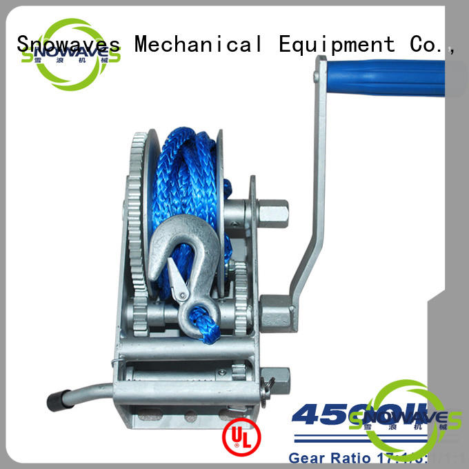 Snowaves Mechanical marine winch company for picnics