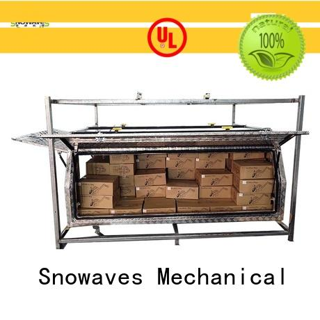 Snowaves Mechanical truck aluminium tool box factory for boat