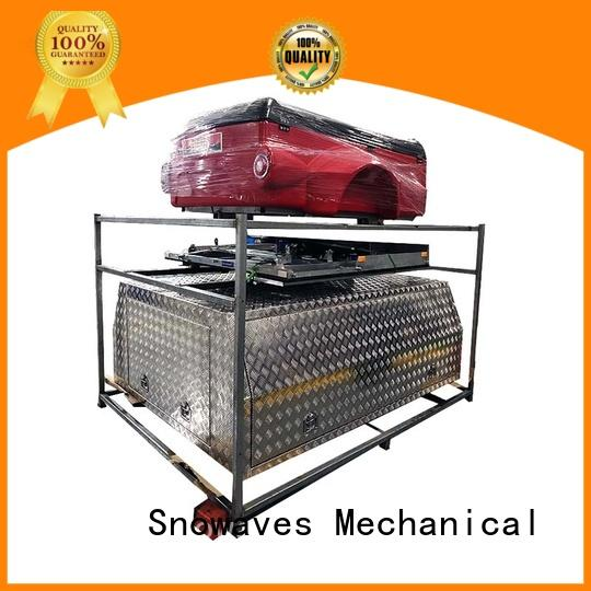 Snowaves Mechanical boxes aluminum trailer tool box Supply for picnics