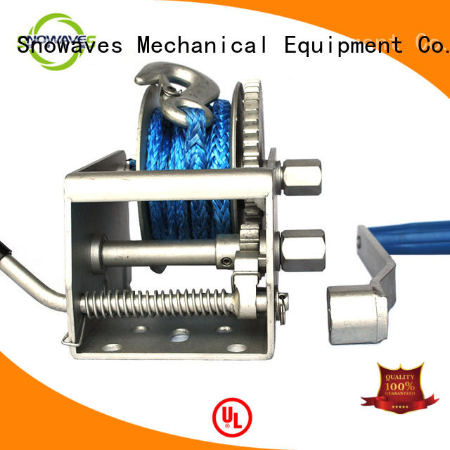 Snowaves Mechanical Best Marine winch for business for one-way trips