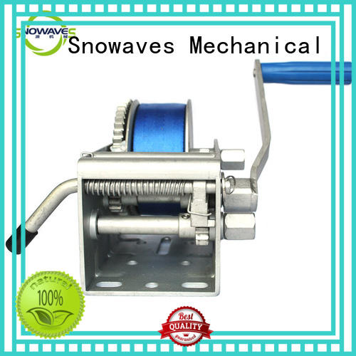 Snowaves Mechanical best anchor winch for sale with certification for camping