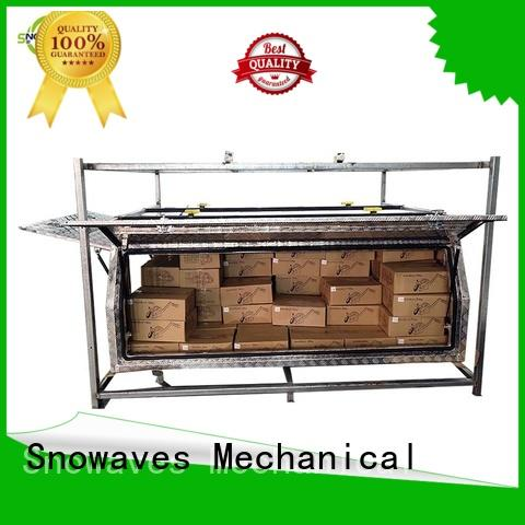Snowaves Mechanical hot-selling small aluminium tool box Chinese vendor for boat
