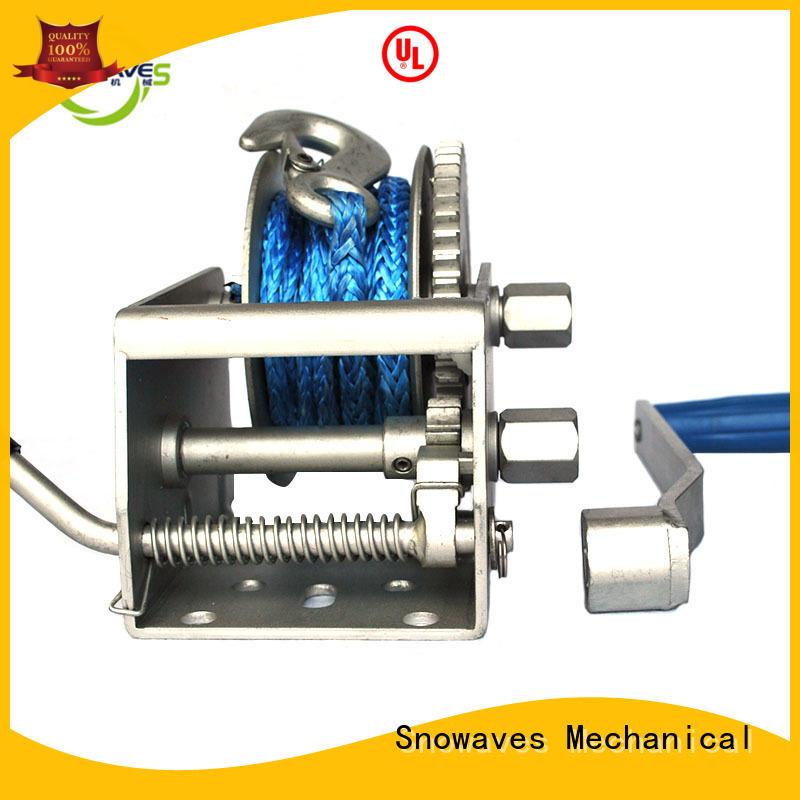 Trailer hand winch 5:1/1:1(2 speed) 700kg pulling SW1500A