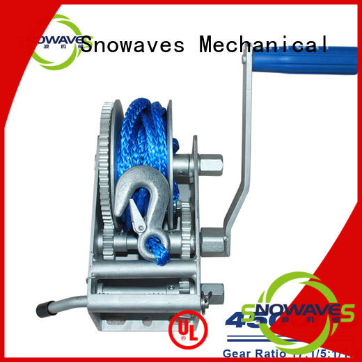 pulling Marine winch pulling for trips Snowaves Mechanical