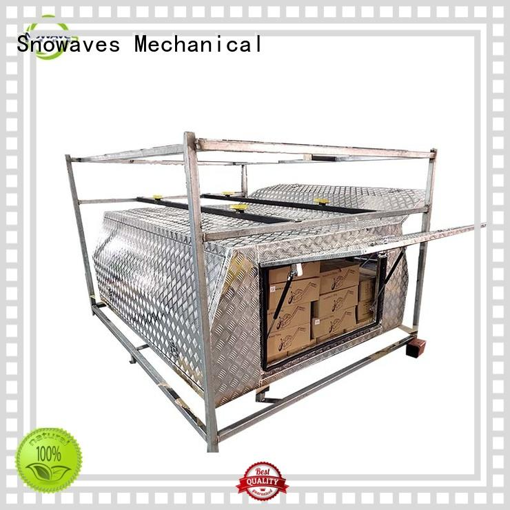 camper aluminum Snowaves Mechanical Brand aluminium tool boxes for caravans factory