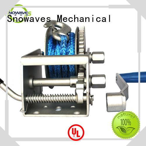 Snowaves Mechanical Custom Marine winch Suppliers for trips