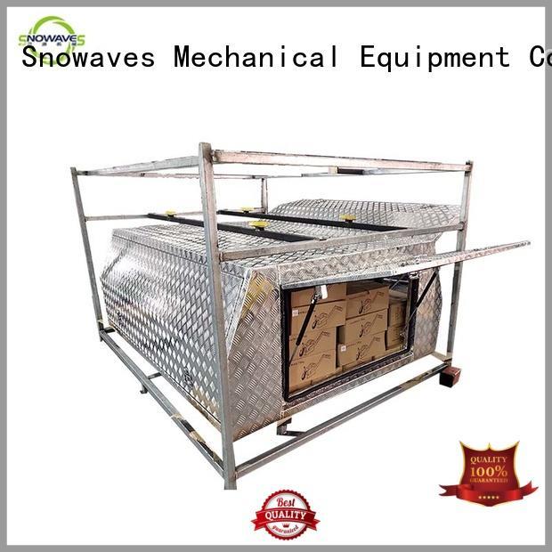 Snowaves Mechanical aluminium aluminum trailer tool box Supply for boat