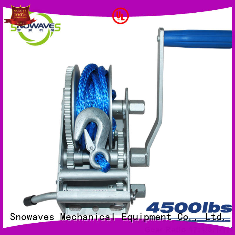 Snowaves Mechanical marine winch company for trips