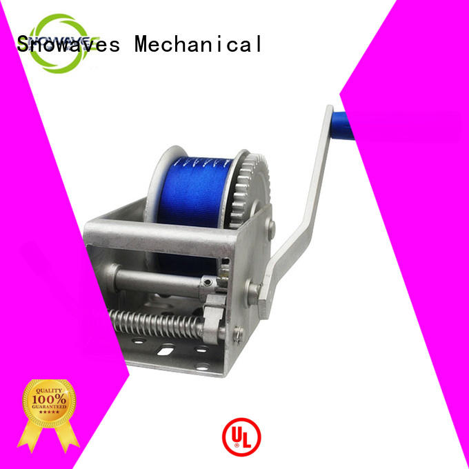 Snowaves Mechanical Top Marine winch company for trips