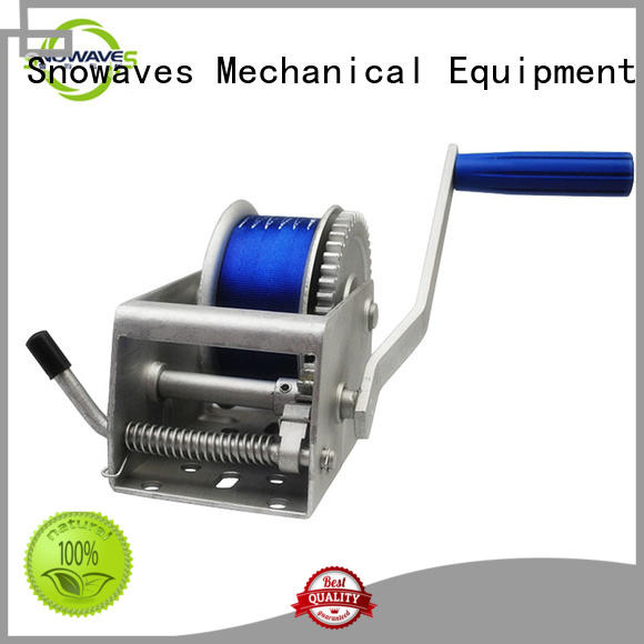 Snowaves Mechanical High-quality Marine winch manufacturers for camp