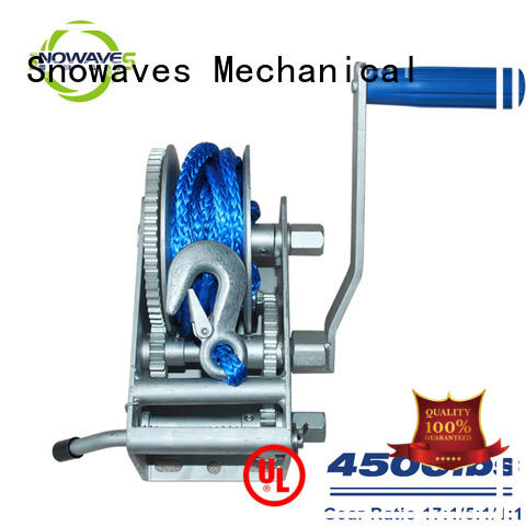 Snowaves Mechanical Best Marine winch for business for trips
