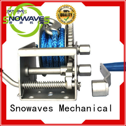 Snowaves Mechanical electric boat winch for camp
