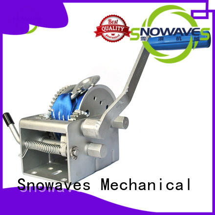 hand electric boat winch long-term-use for one-way trips Snowaves Mechanical