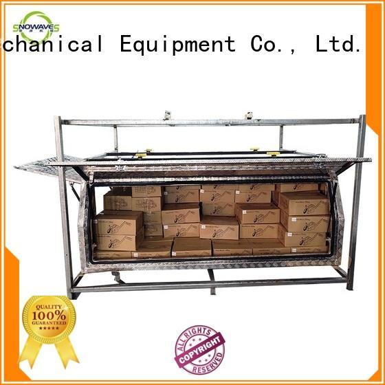 Snowaves Mechanical aluminium tool box aluminium for picnics