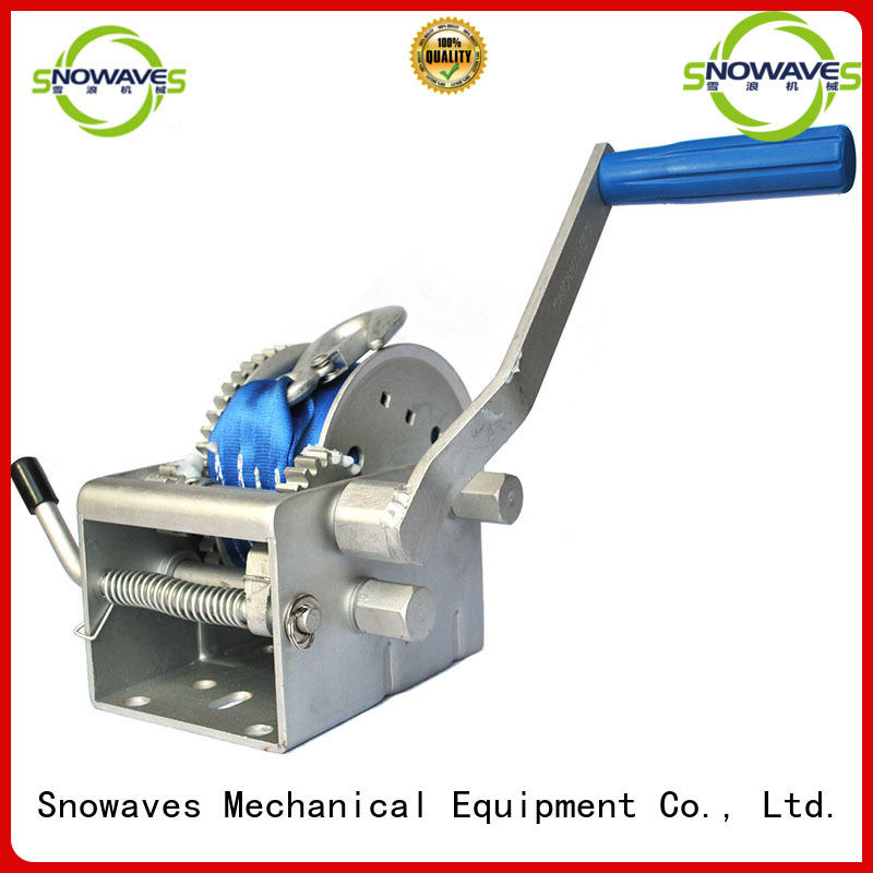 electric boat winch single for trips Snowaves Mechanical