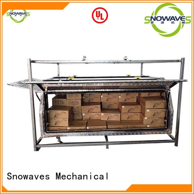 hot-selling black aluminum tool box for wholesale for camping Snowaves Mechanical