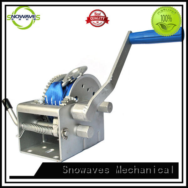Snowaves Mechanical trailer Marine winch company for one-way trips