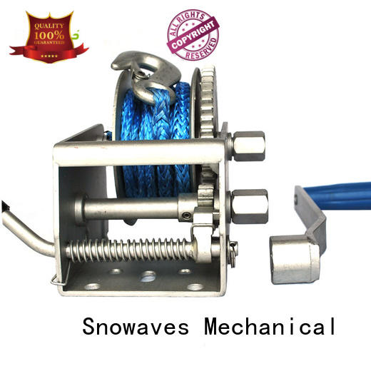Snowaves Mechanical trailer Marine winch long-term-use for camping