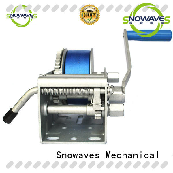 single Marine winch for camping Snowaves Mechanical