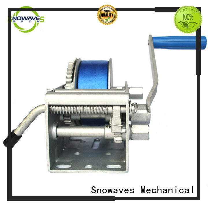 Snowaves Mechanical marine winch factory for picnics