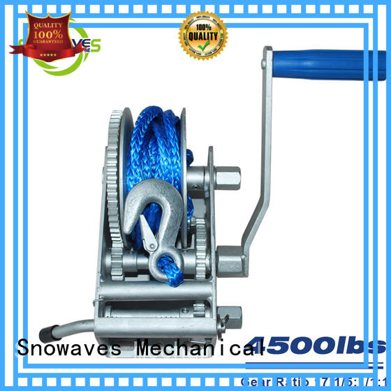 Snowaves Mechanical durable anchor winch for sale pulling for camping