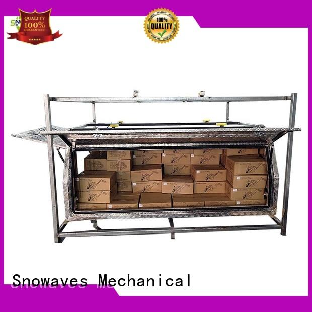 Snowaves Mechanical tool aluminum trailer tool box for business for boat