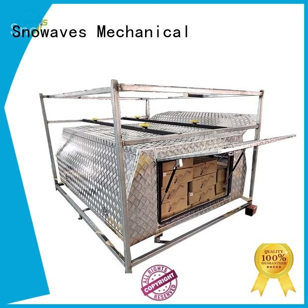 Wholesale aluminum trailer tool box aluminium factory for boat