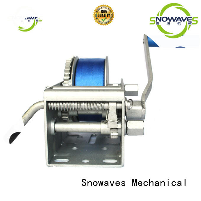 Snowaves Mechanical Top Marine winch factory for trips