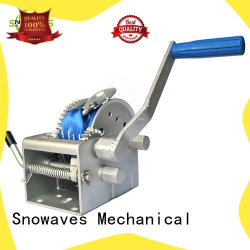Trailer hand winch 10:1/5:1/1:1(3 speed) 1000kg pulling SW2000