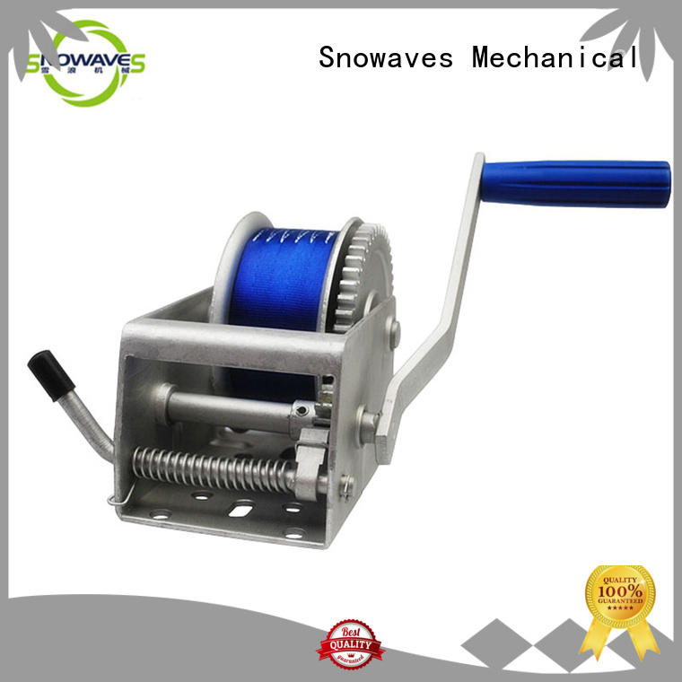 Snowaves Mechanical Latest Marine winch Supply for one-way trips