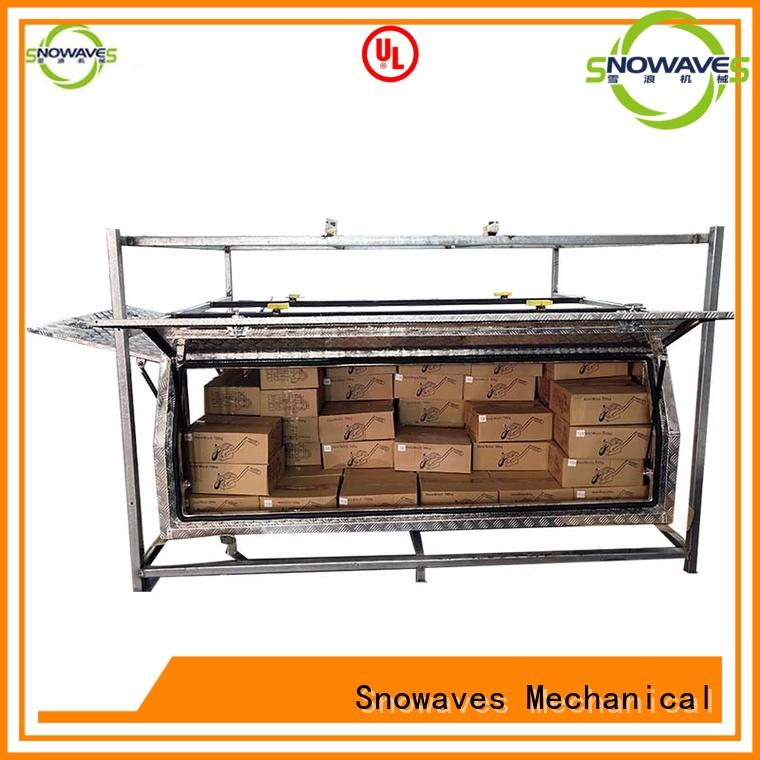 Snowaves Mechanical Wholesale aluminium tool box Suppliers for camping