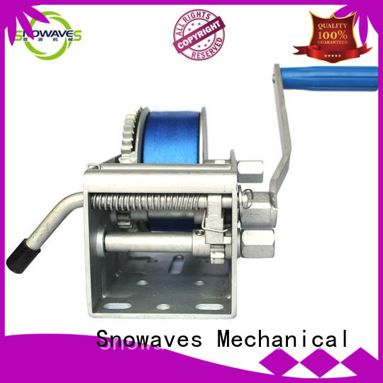Snowaves Mechanical pulling Marine winch manufacturers for picnics