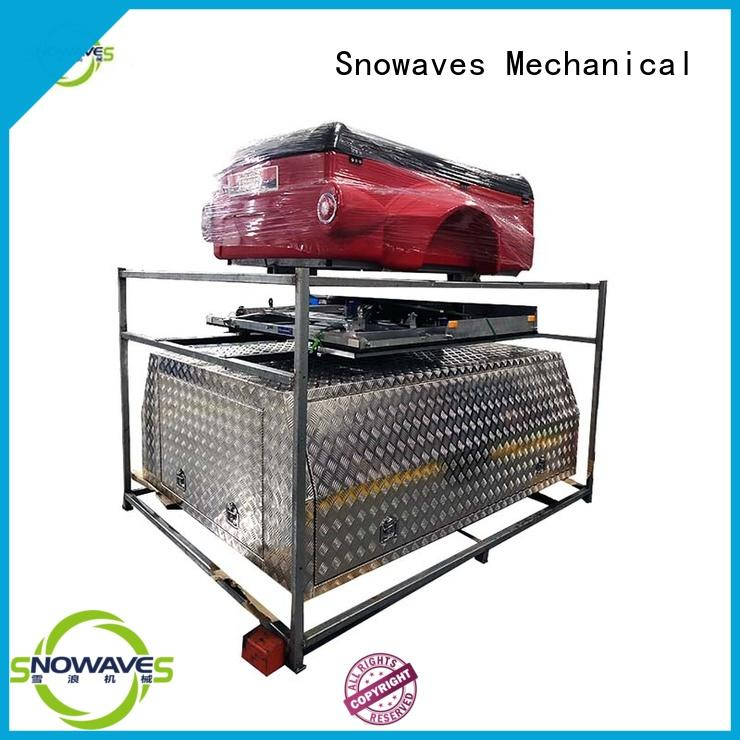 Snowaves Mechanical High-quality aluminum trailer tool box manufacturers for camping