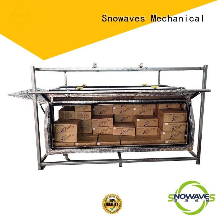 Snowaves Mechanical Brand pickup aluminium aluminium tool boxes for caravans boxes