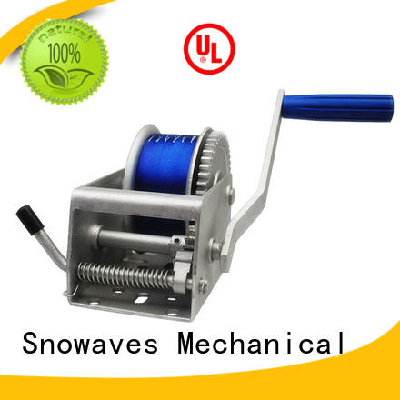 Snowaves Mechanical hand anchor winch for sale for picnics