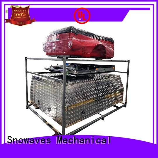 Snowaves Mechanical pickup aluminum trailer tool box company for car