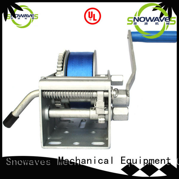 single electric boat winch hand for trips Snowaves Mechanical